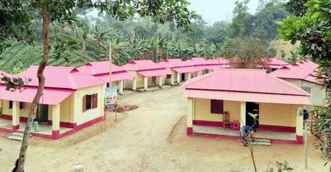 মুজিববর্ষ উপলক্ষে শেরপুরে ২৯১ ভূমিহীন ও গৃহহীনদের মাঝে নতুন ঘর হস্তান্তর