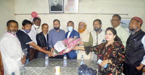 শেরপুর প্রেসক্লাবে সাংবাদিকদের সাথে মতবিনিময় করলেন বিএফইউজের সাবেক সভাপতি বুলবুল