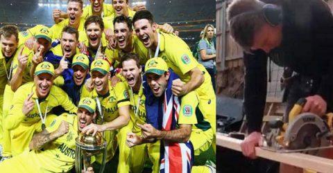 অস্ট্রেলিয়ার বিশ্বকাপজয়ী ক্রিকেটার এখন কাঠ মিস্ত্রি! (ভিডিও)