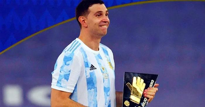 মার্টিনেজ কোপা আমেরিকার সেরা গোলরক্ষক