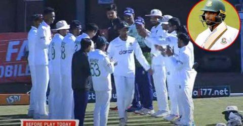টেস্ট ক্রিকেটকে বিদায় বললেন মাহমুদউল্লাহ