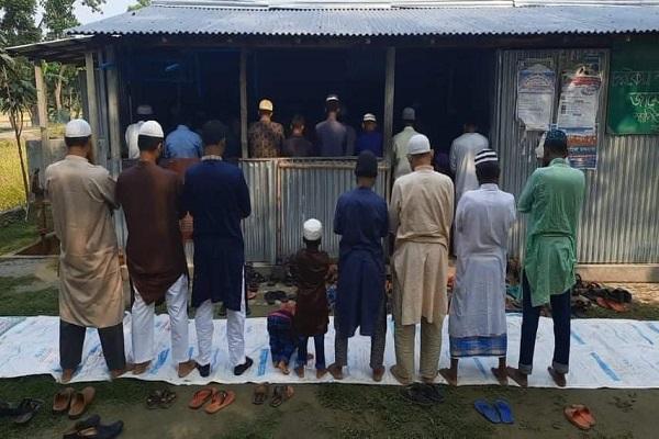 শেরপুরের ৭ গ্রামে ঈদুল আজহার নামাজ আদায়